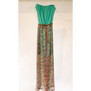 Buckle Collection As U Wish Maxi Dress